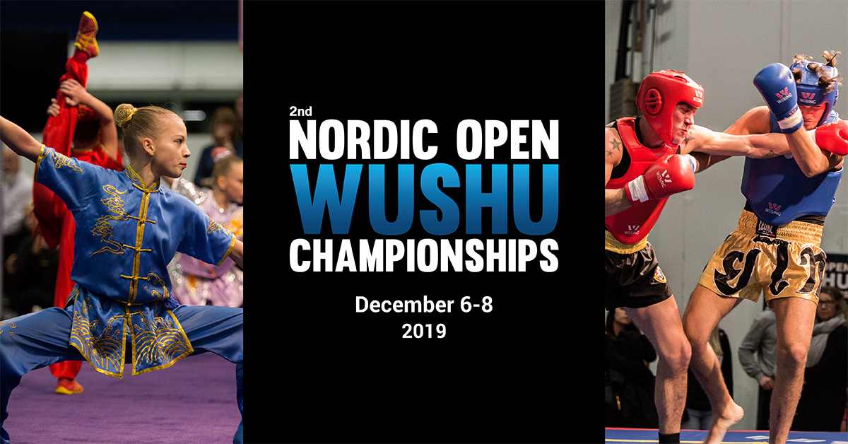 Nordic Open Wushu Championships 2019 & Stockholm Kung fu festival